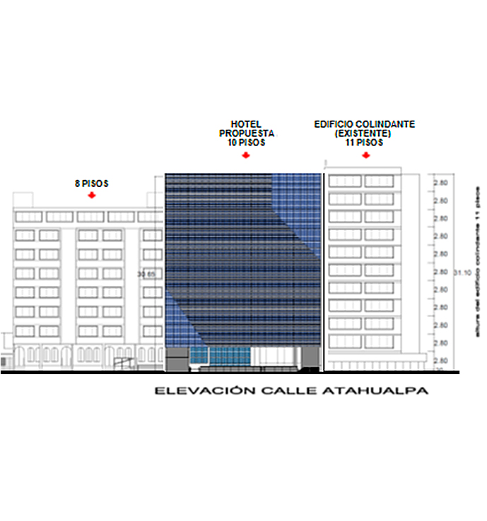 Hotel Ikonik. Calle Atahualpa